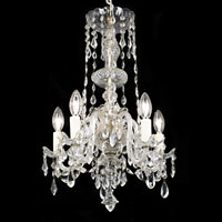 Georgian Cut Glass Five Branch Chandelier | Westland London