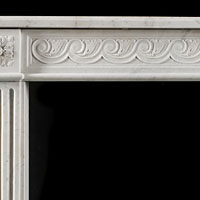 French Louis XVI Antique Marble Fireplace | Westland London