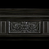 Black Marble Renaissance Fireplace | Westland London