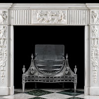 Statuary Marble Georgian Fireplace Mantel | Westland London