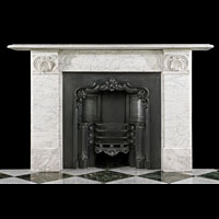 Regency White Marble Fireplace Mantel | Westland Antiques