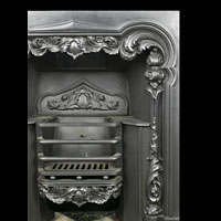 Georgian Cast Iron Antique Fireplace Insert | Westland London