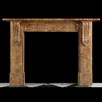 Victorian Brocatelle Marble Fireplace Mantel | Westland London