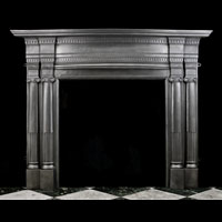 Cast Iron Classical Style Antique Victorian Fireplace | Westland
