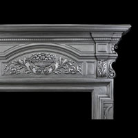 Victorian Cast Iron Tall Fireplace Surround | Westland Antiques