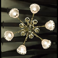 Victorian Twelve Branch Brass Chandelier | Westland London