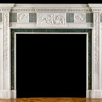 Edwardian Georgian Style Marble Fireplace | Westland Antiques