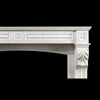 A French Marble Fireplace Mantel | Westland Antiques.