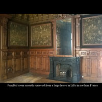 French Oak Panelled Room And Fireplace | Westland London