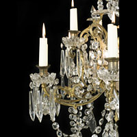 Cut Glass Fifteen Branch Chandelier | Westland London