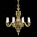 Baroque Brass Victorian Chandelier | Westland London