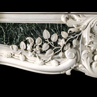 Rare Georgian Statuary Marble Chimneypiece | Westland Antiques