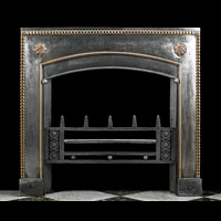 English Regency Bronze And Iron Register Grate | Westland