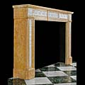 Louis XVI Style Marble Fireplace Mantel | Westland London