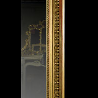 Carved Wood Gilded Antique Overmantle Mirror | Westland London