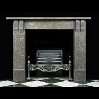 Corbel Fossil Marble Victorian Fireplace | Westland Antiques