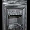 Victorian Neoclassical Cast Iron Fireplace | Westland London