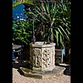 Carved Reconstituted Stone Well Head | Westland London