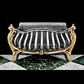 Rococo Iron Brass Acanthus Antique Fire Grate | Westland London