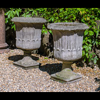 Garden urns Pair Stone | Westland London