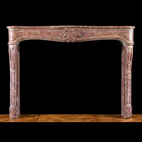 Brocatello Marble French Fireplace | Westland Antiques
