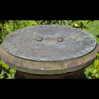 Antique Victorian Stone Column Bronze Sundial | Westland London