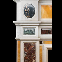Specimen Marble Neoclassical Replica Fireplace | Westland London