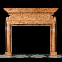 Italian Verona Marble Antique Fireplace | Westland Antiques