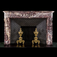 French Regency Salon Antique Marble Fireplace | Westland London