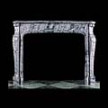 Louis XV Grey Marble Antique Fireplace | Westland London
