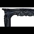 Louis XV Black Marble Rococo Fireplace | Westland London