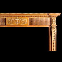 George III Adam Style Pine Fireplace Mantel | Westland London