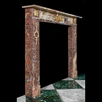 Small French Marble Antique Fireplace | Westland Antiques