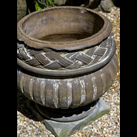 Baroque Terracotta Garden Urns | Westland London