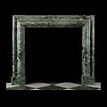 Antique Bolection Green Marble Fireplace | Westland Antiques