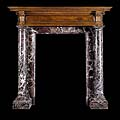 Renaissance Marble Trumeau Antique Fireplace | Westland London