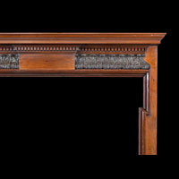 Carved Mahogany Wood Antique Fireplace | Westland London