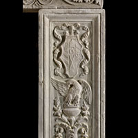 Renaissance Stone Antique Fireplace Mantel | Westland London