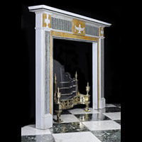 Georgian Statuary Marble Fireplace Surround | Westland London