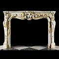 Louis XV Pavonazzo Marble Fireplace | Westland Antiques