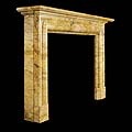 Sienna Marble Scottish Antique Fireplace | Westland London