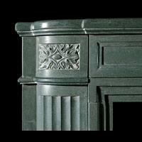 Art Deco Antique Stone Fireplace Mantel | Westland London