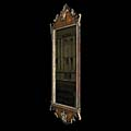 Antique George III Mahogany Mirror