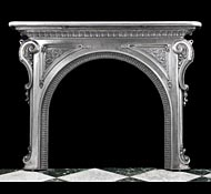 Antique Fireplaces by Material
