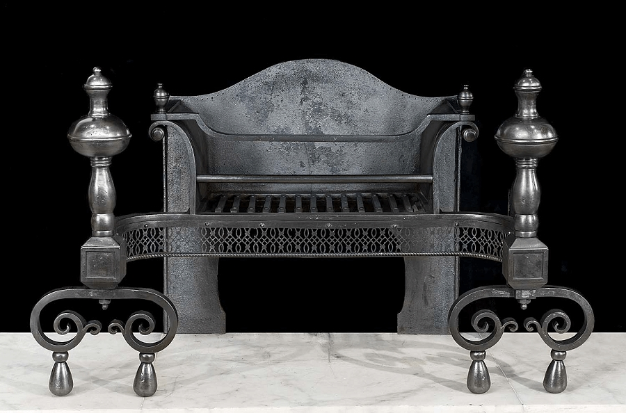 Using cast iron in antiques - from fireplaces to benches